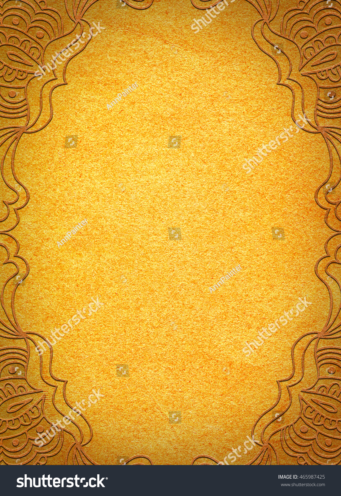 Yellow Background Wedding Invitation Hd