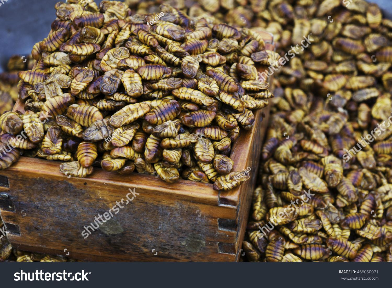Bondegi Traditional Korean Snack Bondegi Traditional Stock Photo