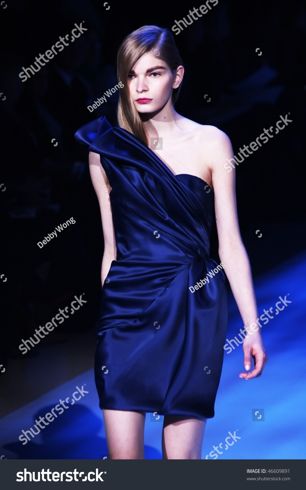 New yorkfebruary 12 mercedesbenz fashion week stock photo for Mercedes benz new york fashion week