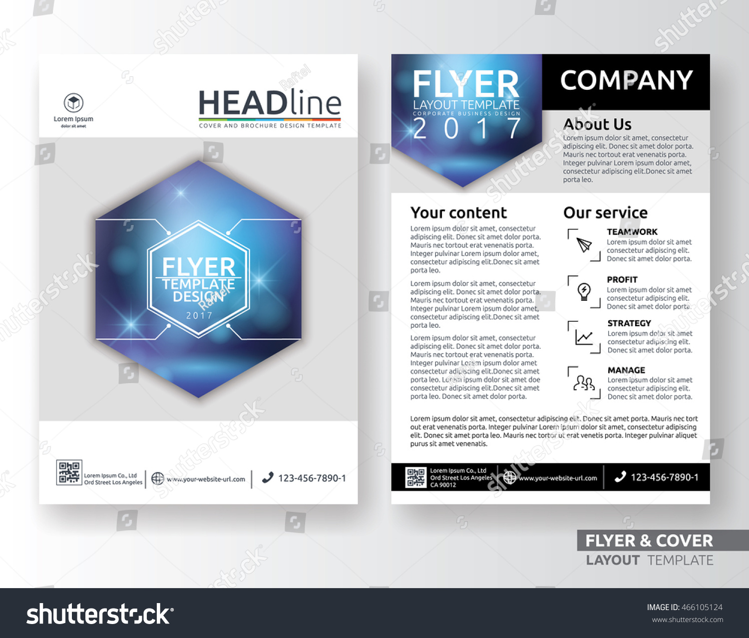 Cute Business Leaflet Template Images - Entry Level Resume Templates ...