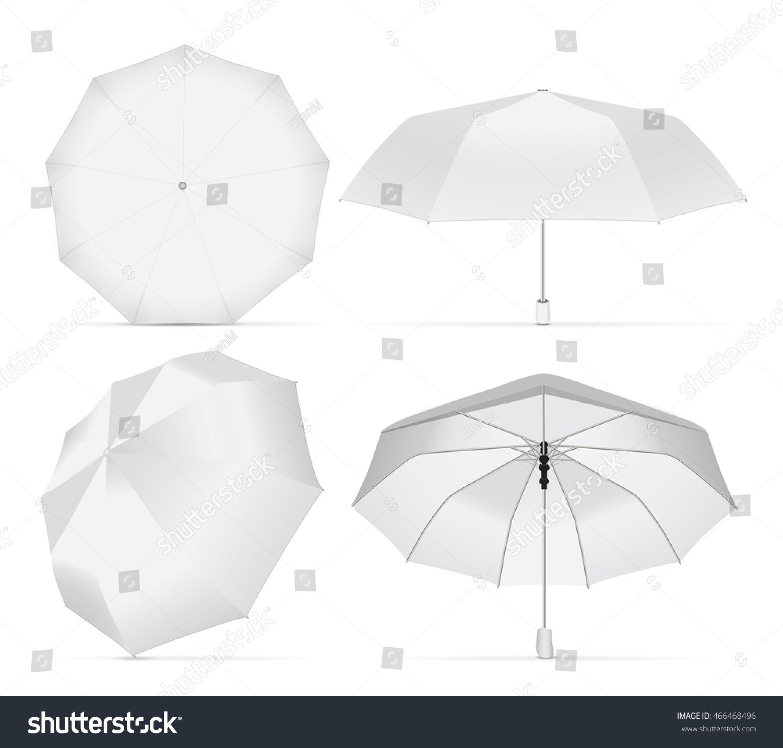Umbrella your design logo easy change stock vector for Architecture upbrella