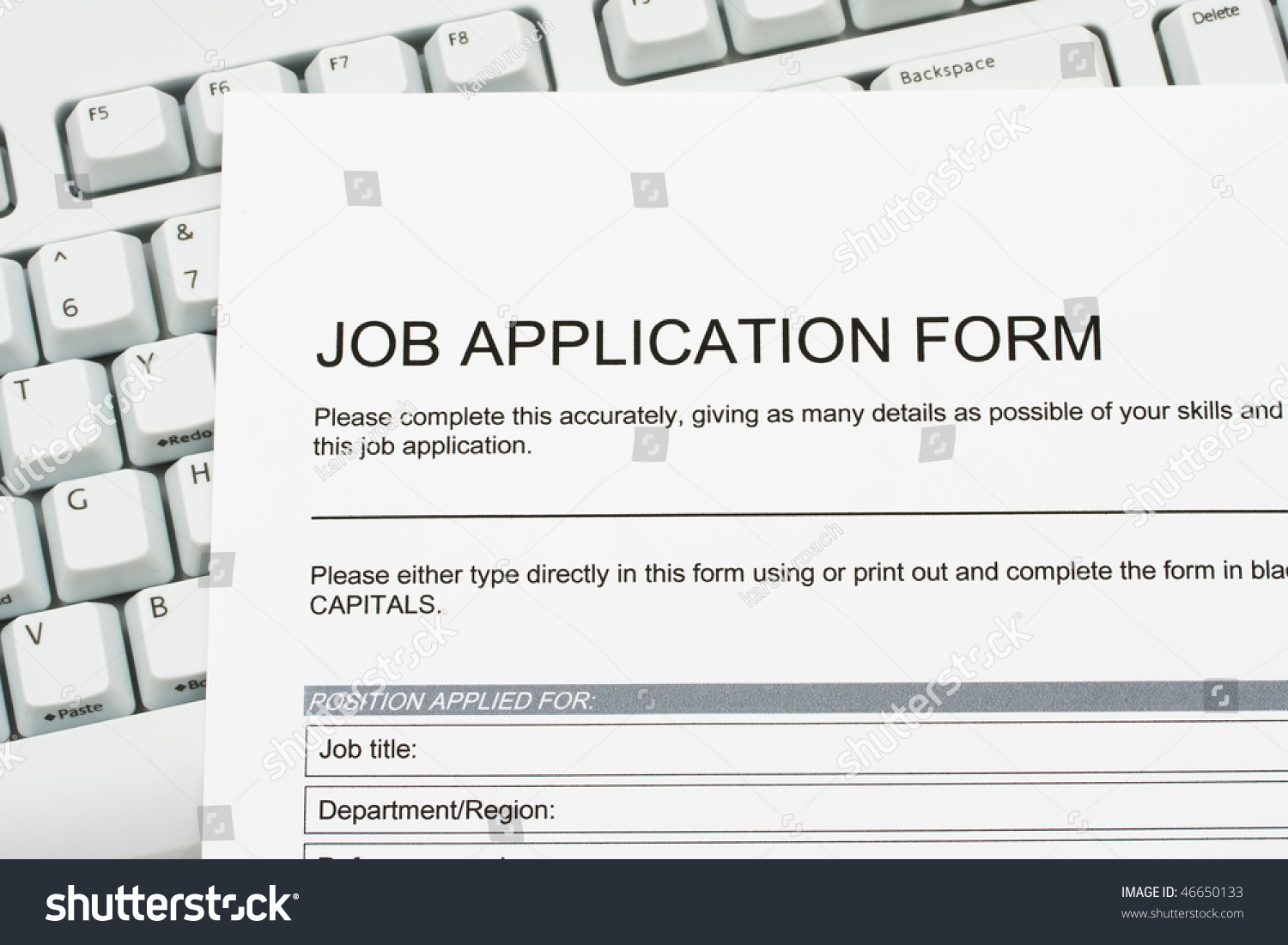a job application jobs sitting on a computer keyboard apply for apply for jobs online preview save to a lightbox
