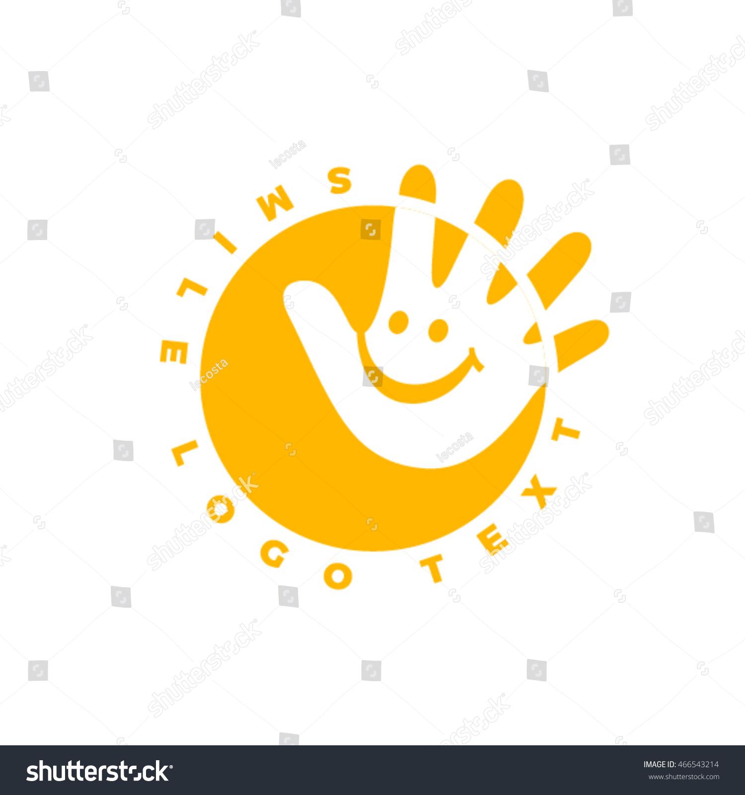 kinder garden logo design stock vector shutterstock
