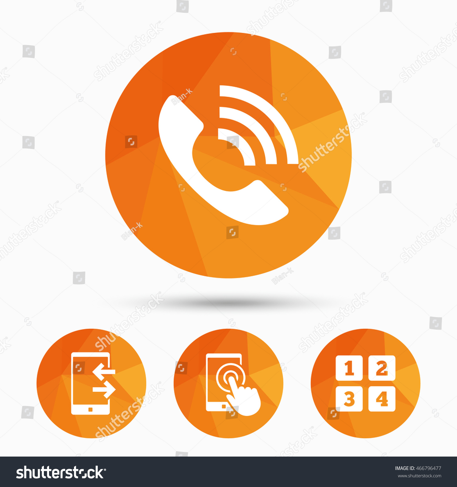 Phone icons touch screen smartphone sign stock illustration phone icons touch screen smartphone sign call center support symbol cellphone keyboard symbol biocorpaavc Images