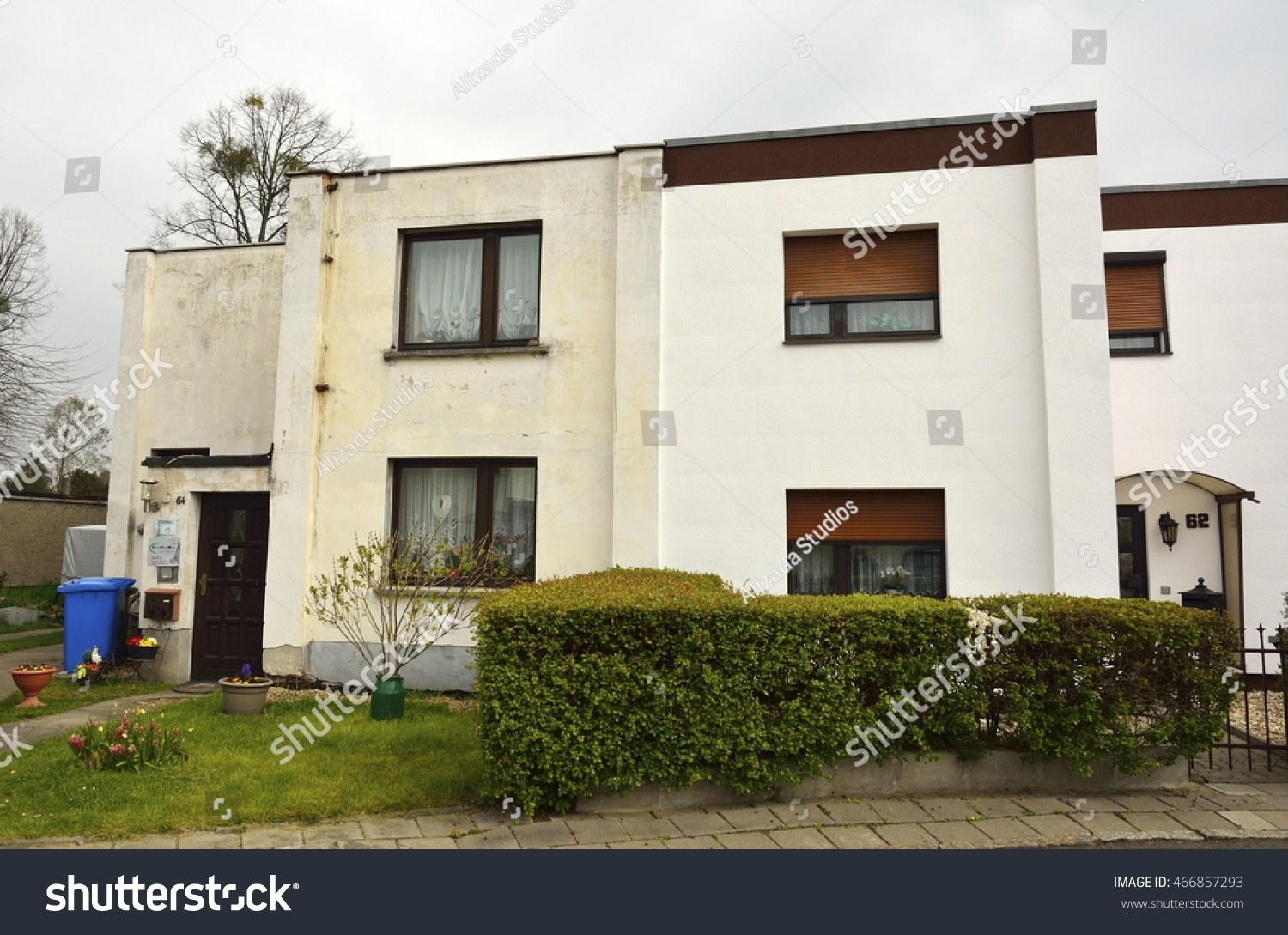 DESSAUROSSLAU GERMANY APRIL 14 2016 Residential Stock Photo (Royalty ...