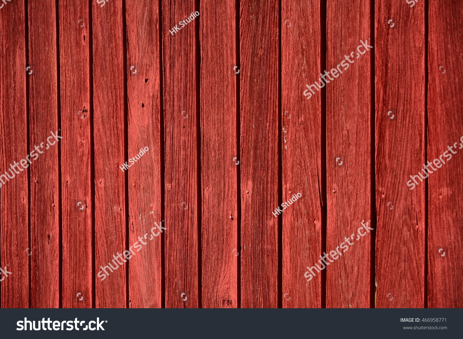 Red abstract grunge wood fence texture stock photo