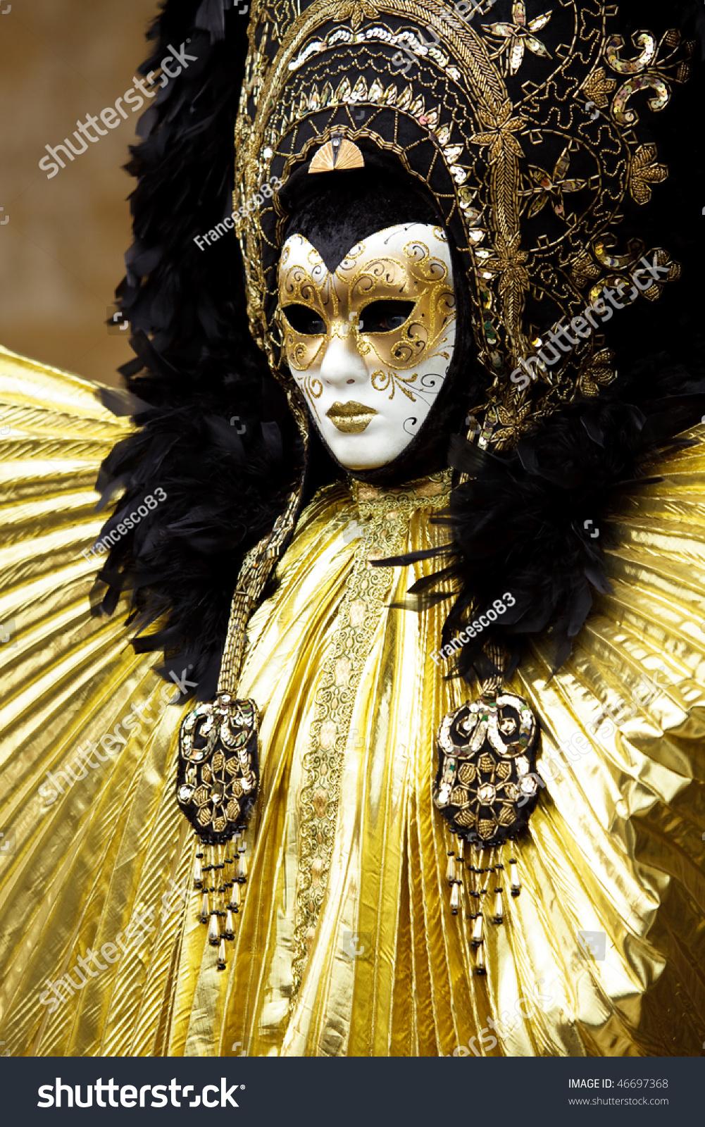 Venice Carnival Stock Photo 46697368 Shutterstock
