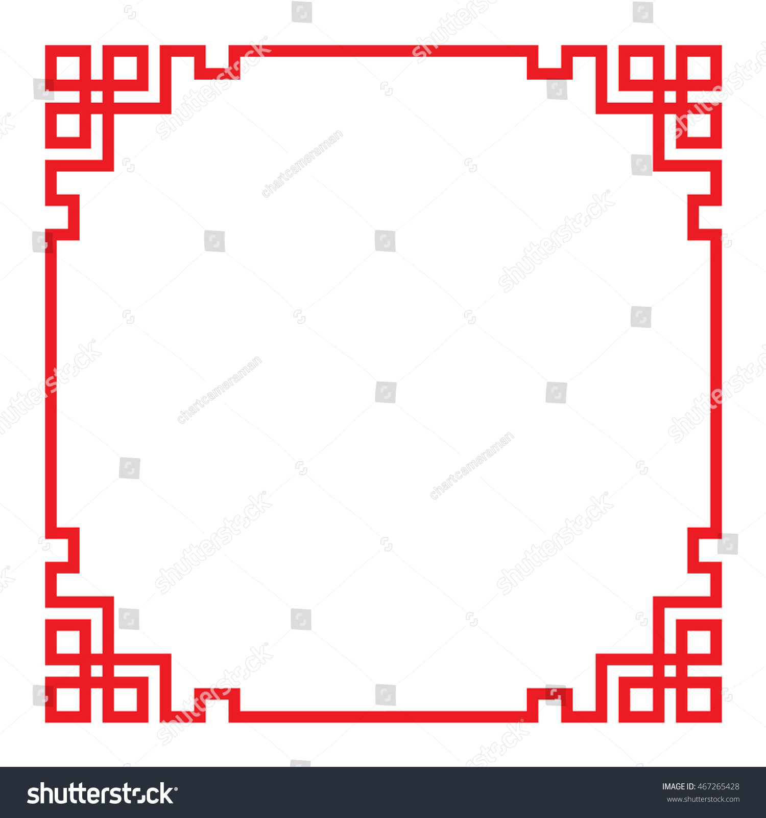 China border frame vector stock vector 467265428 shutterstock china border frame vector jeuxipadfo Image collections
