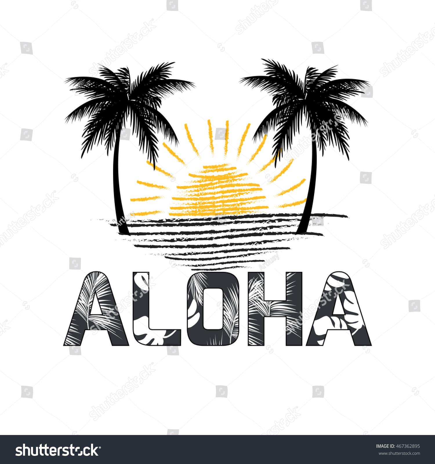 T shirt design hawaii - Aloha Hawaii Aloha T Shirt Design Best Creative Design For Poster Flyer