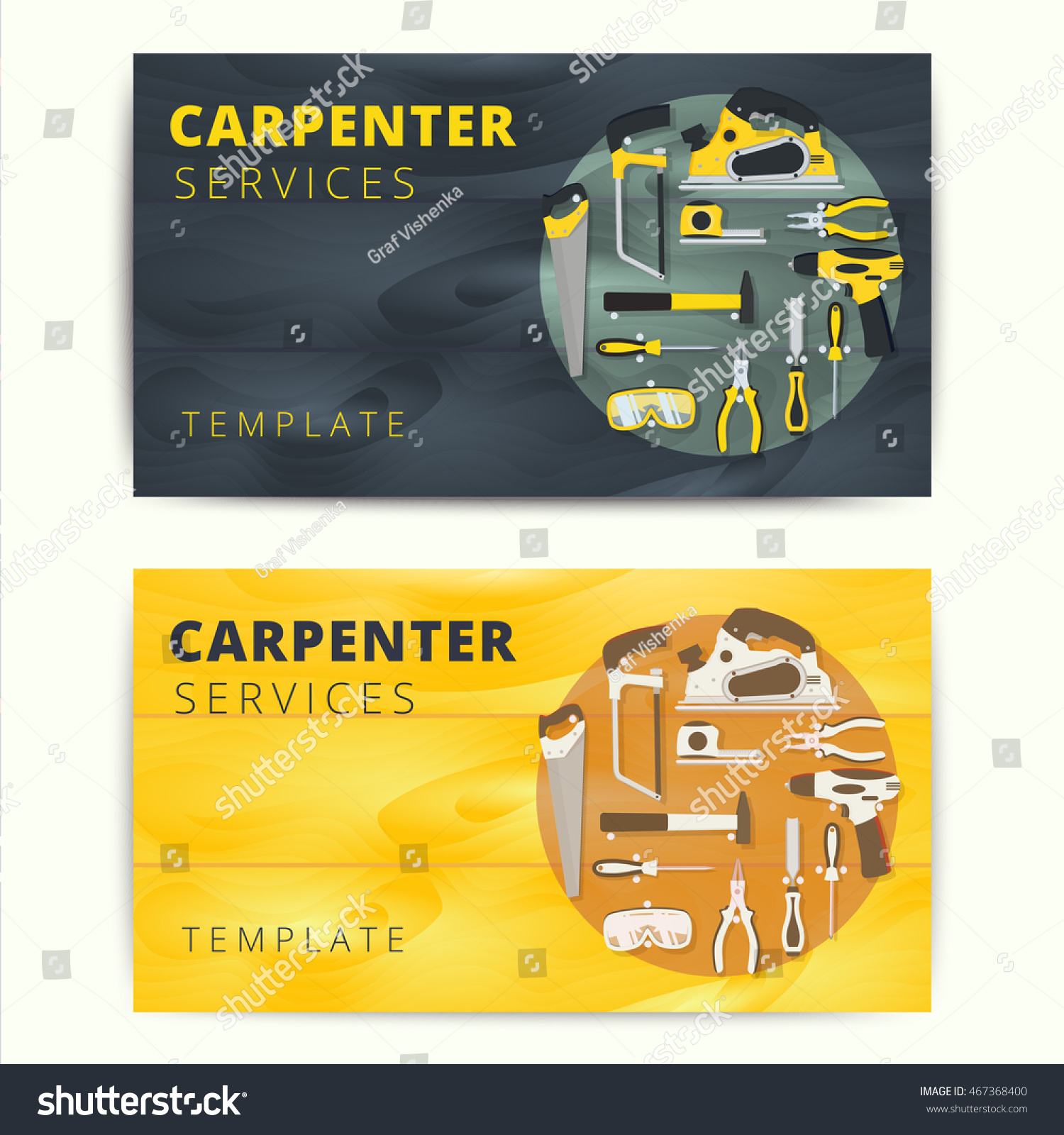 Carpenter business card template mandegarfo carpenter business card template fbccfo Choice Image