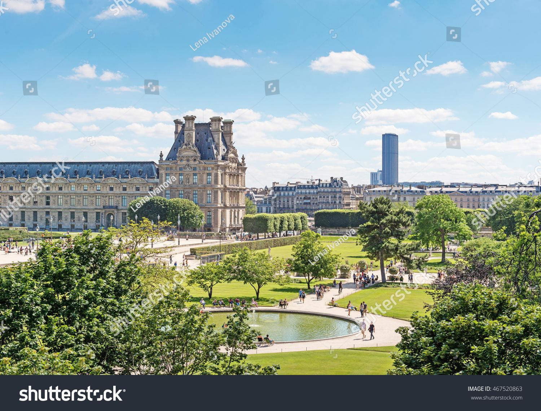 Jardin Des Tuileries Tuileries Garden Park Stockfoto (Jetzt ...
