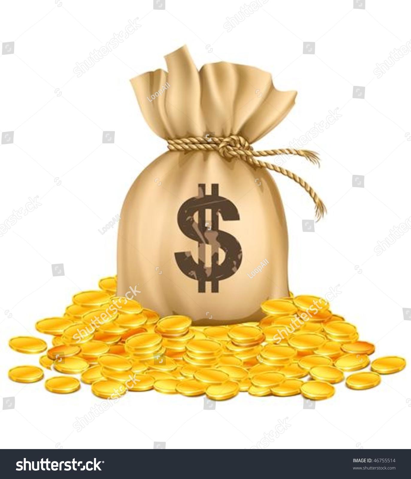 pile of money clipart - photo #50