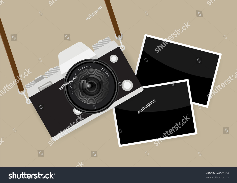 Camera Photo Frames Stock Vector 467557130 - Shutterstock