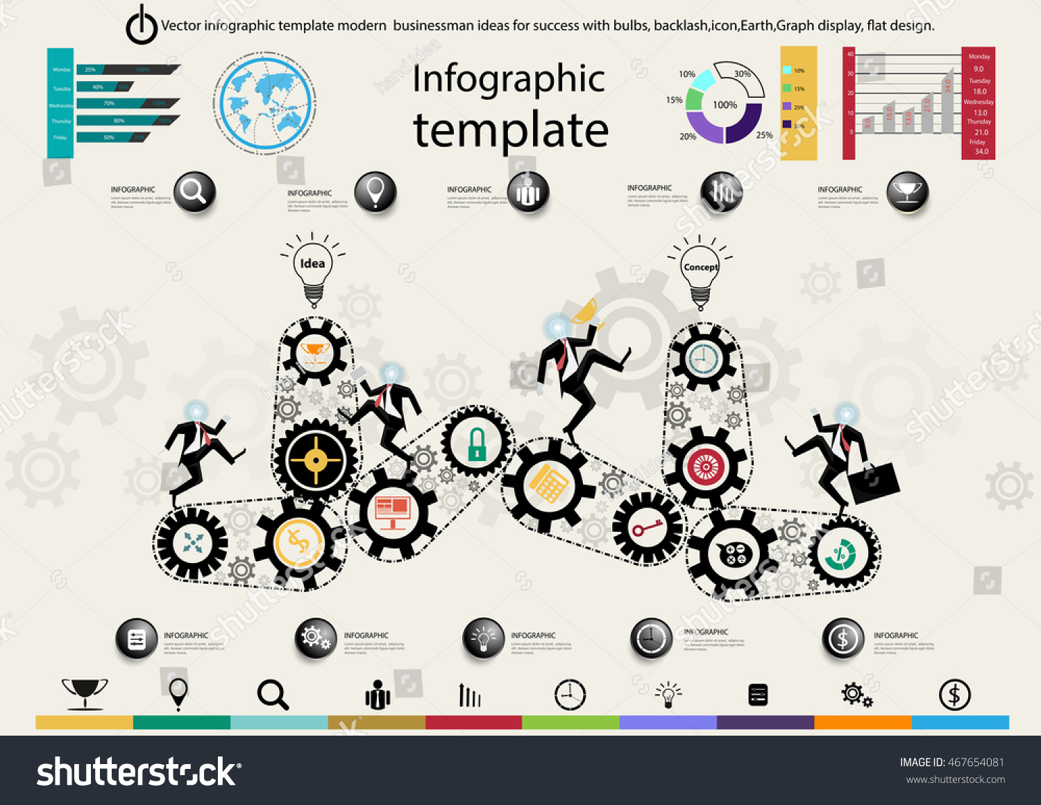 Infographic template ideas