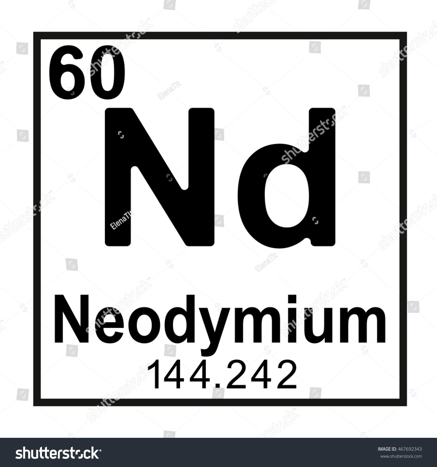 List of Synonyms and Antonyms of the Word: Neodymium Element