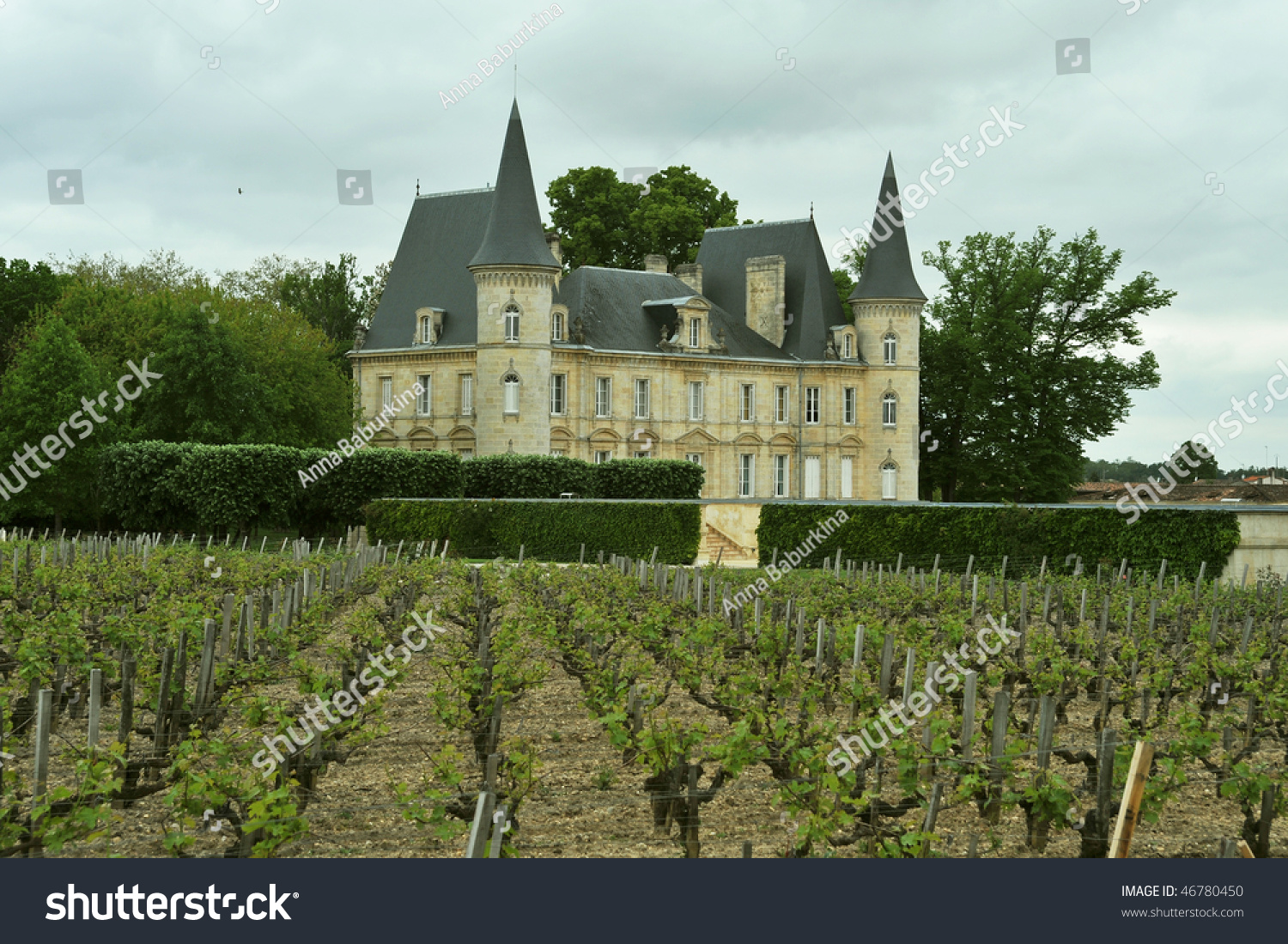 A Chateau In The Loire Valley France Europe Stock Photo
