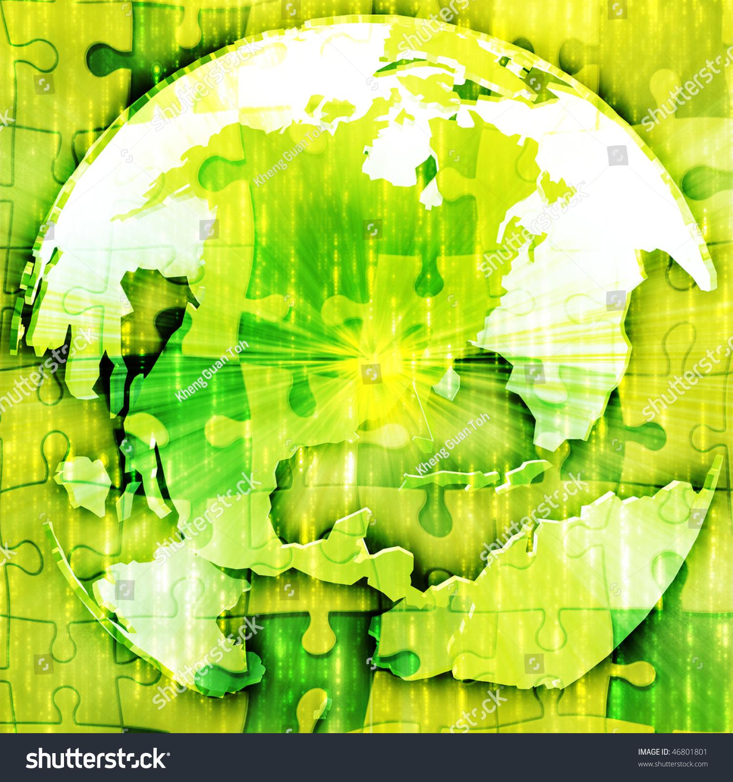 Map americason spherical globe jigsaw puzzle stock illustration map of the americason spherical globe jigsaw puzzle gumiabroncs Image collections