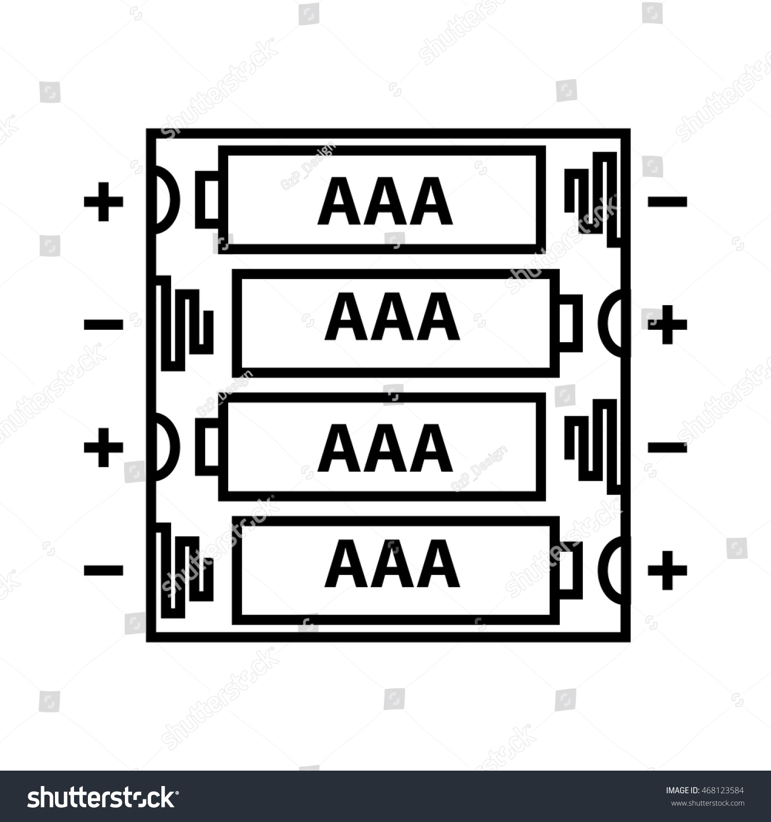 Aaa Battery Diagram   Wiring Diagram on