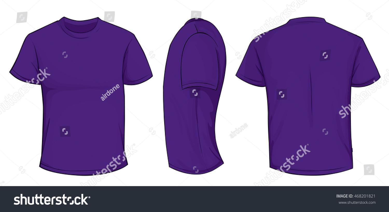 2c328e827 Vector illustration of blank purple men… Stock Photo 468201821 ...