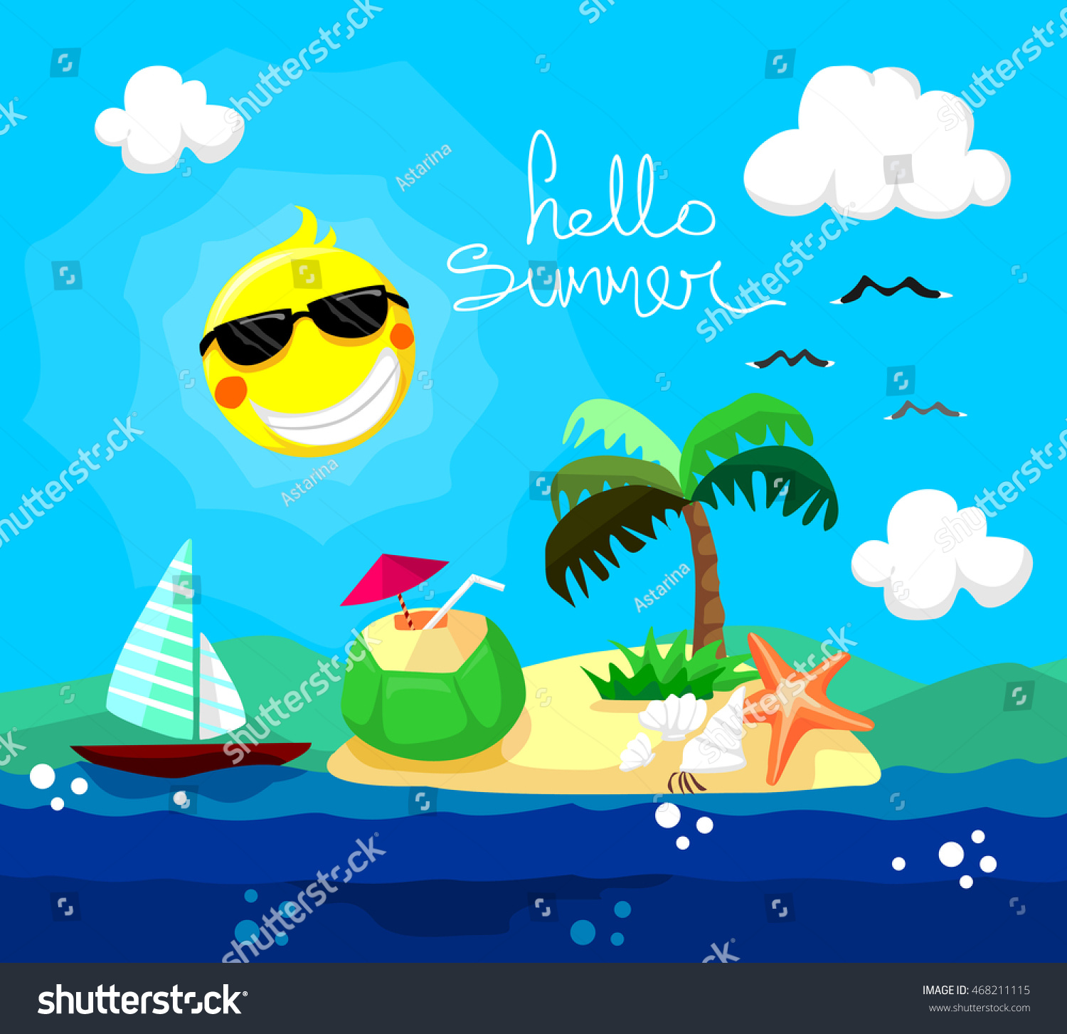 summer vector illustraitons - photo #21