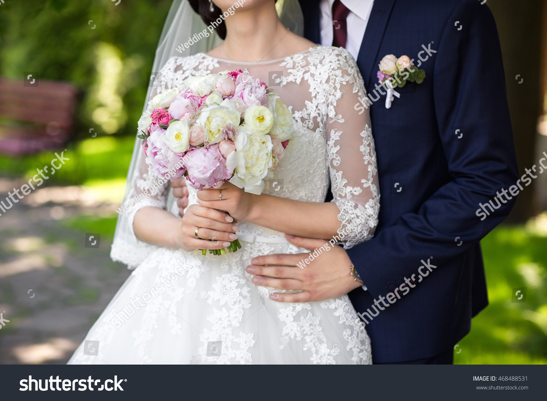wedding wedding day beautiful bride elegant stock photo 468488531 shutterstock. Black Bedroom Furniture Sets. Home Design Ideas
