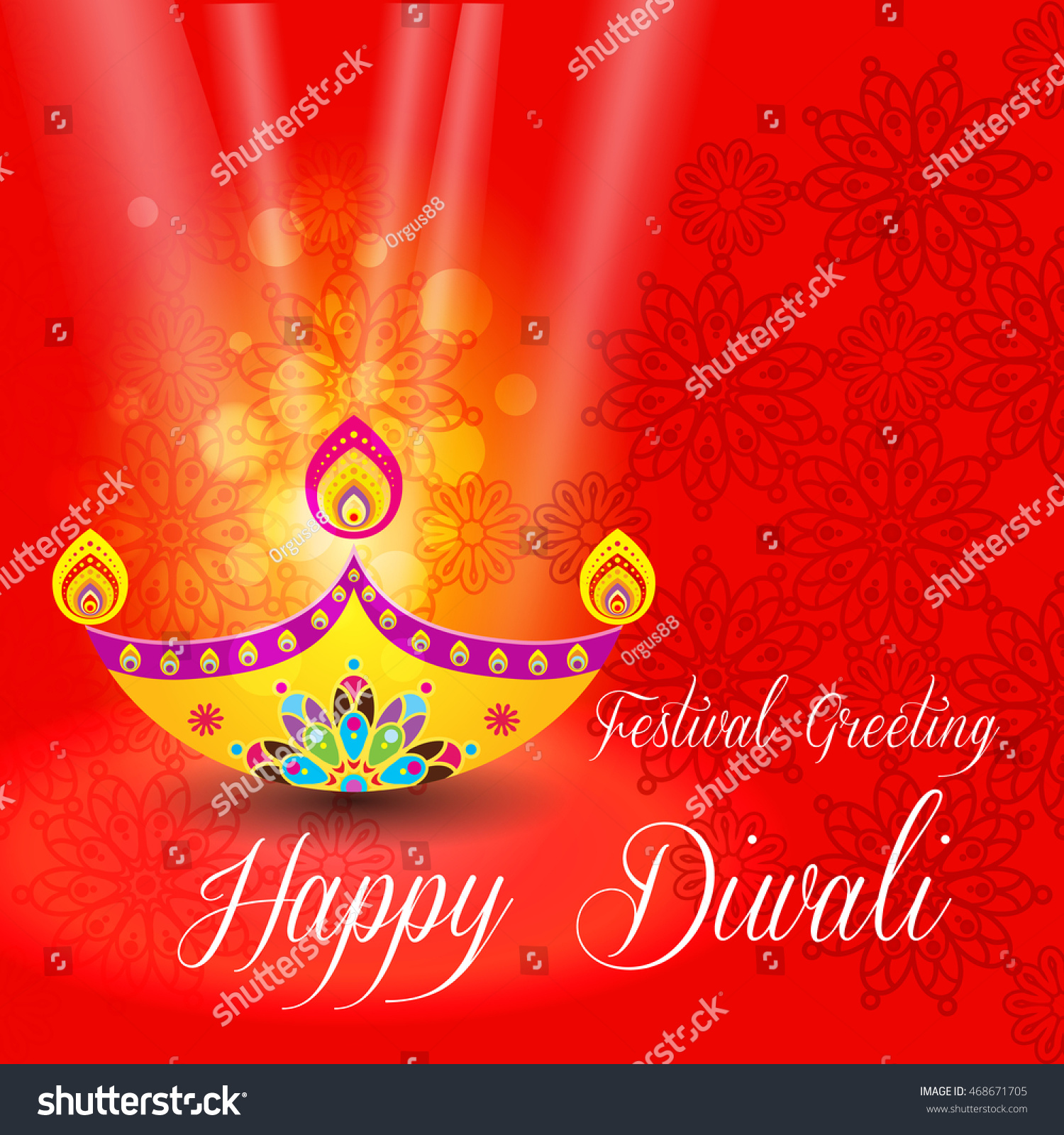 Beautiful greeting card for hindu community festival diwali happy id 468671705 m4hsunfo