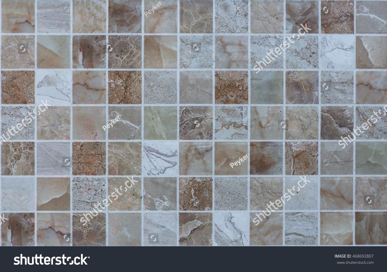 Abstract Mosaic Tiles Stock Photo (Royalty Free) 468692807 ...