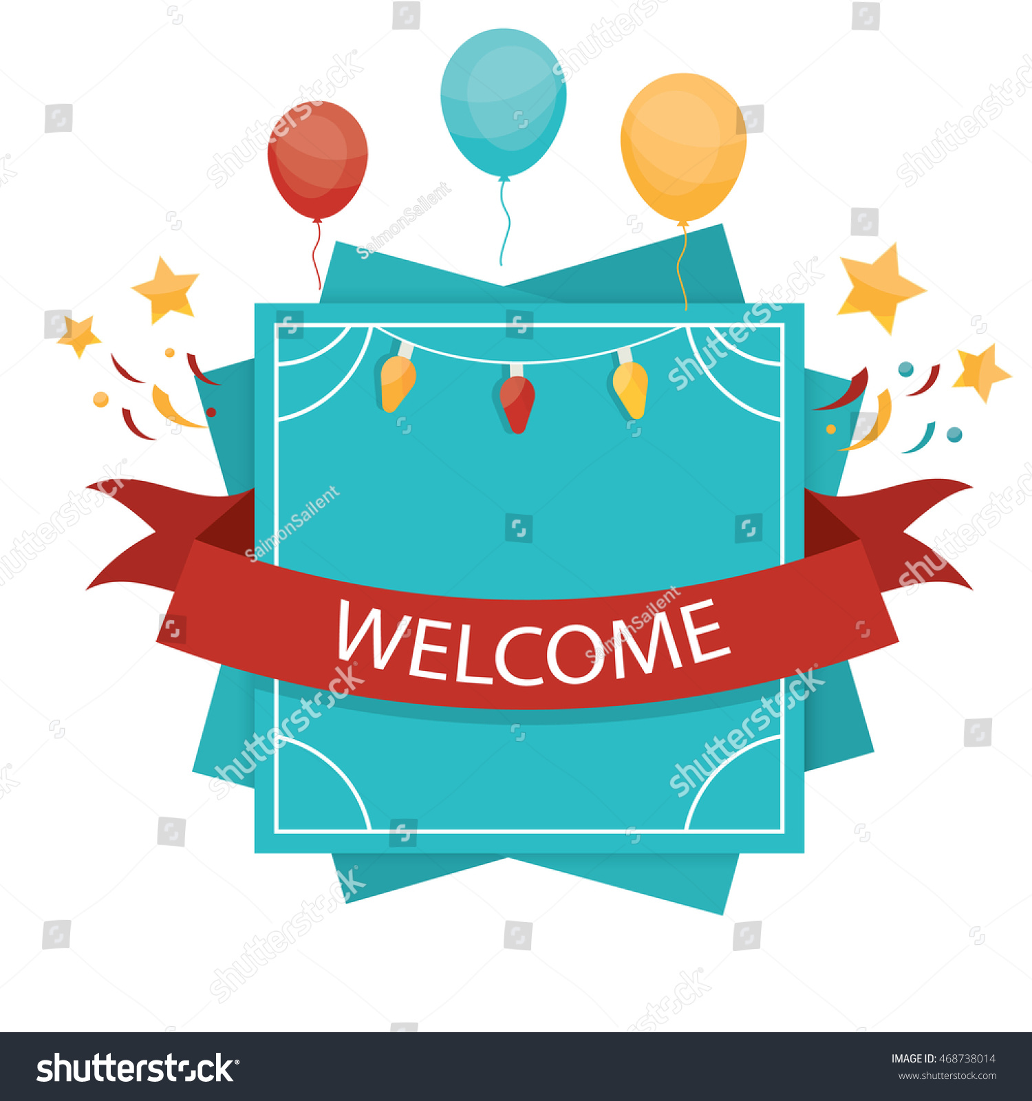 Illustration welcome design elements label banner stock vector illustration of welcome design elements label banner and emblem of celebration for template pronofoot35fo Image collections