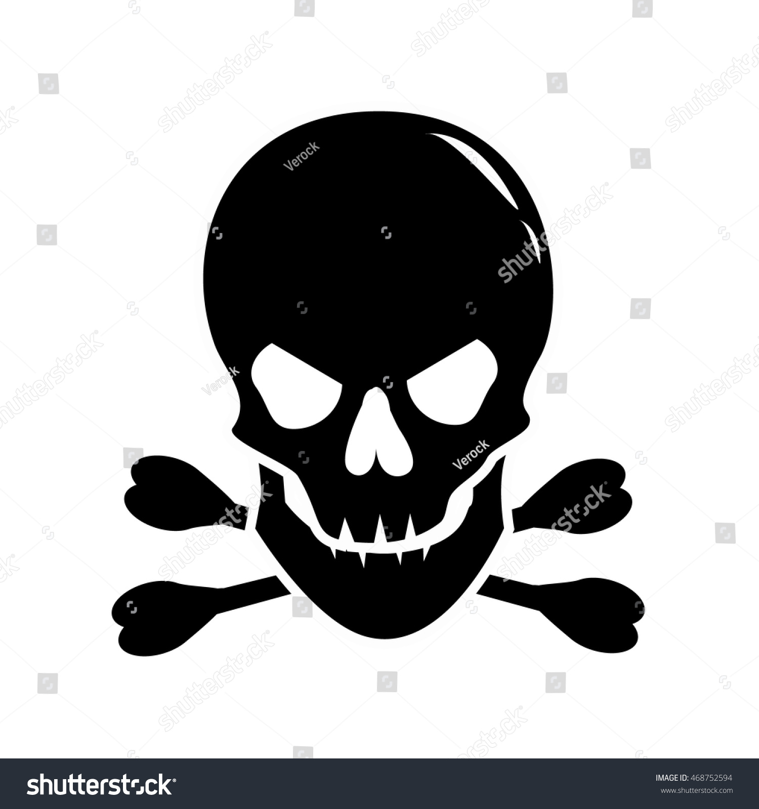 Human Skull Symbol
