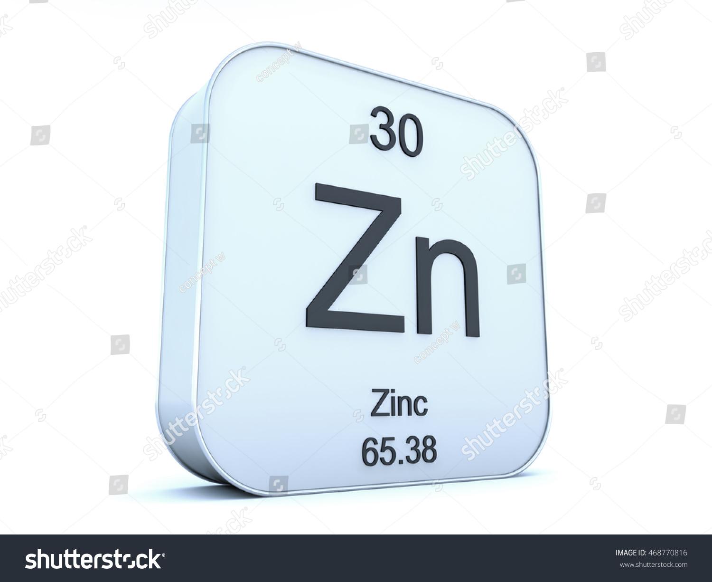 Zinc element on white square icon stock illustration 468770816 zinc element on white square icon 3d render gamestrikefo Gallery