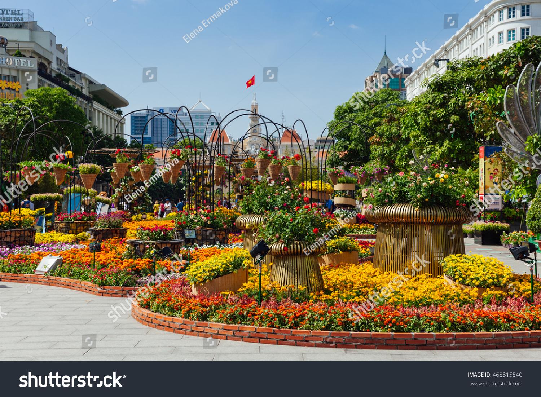 Ho Chi Minh City Vietnam February Stock Photo (Royalty Free ...