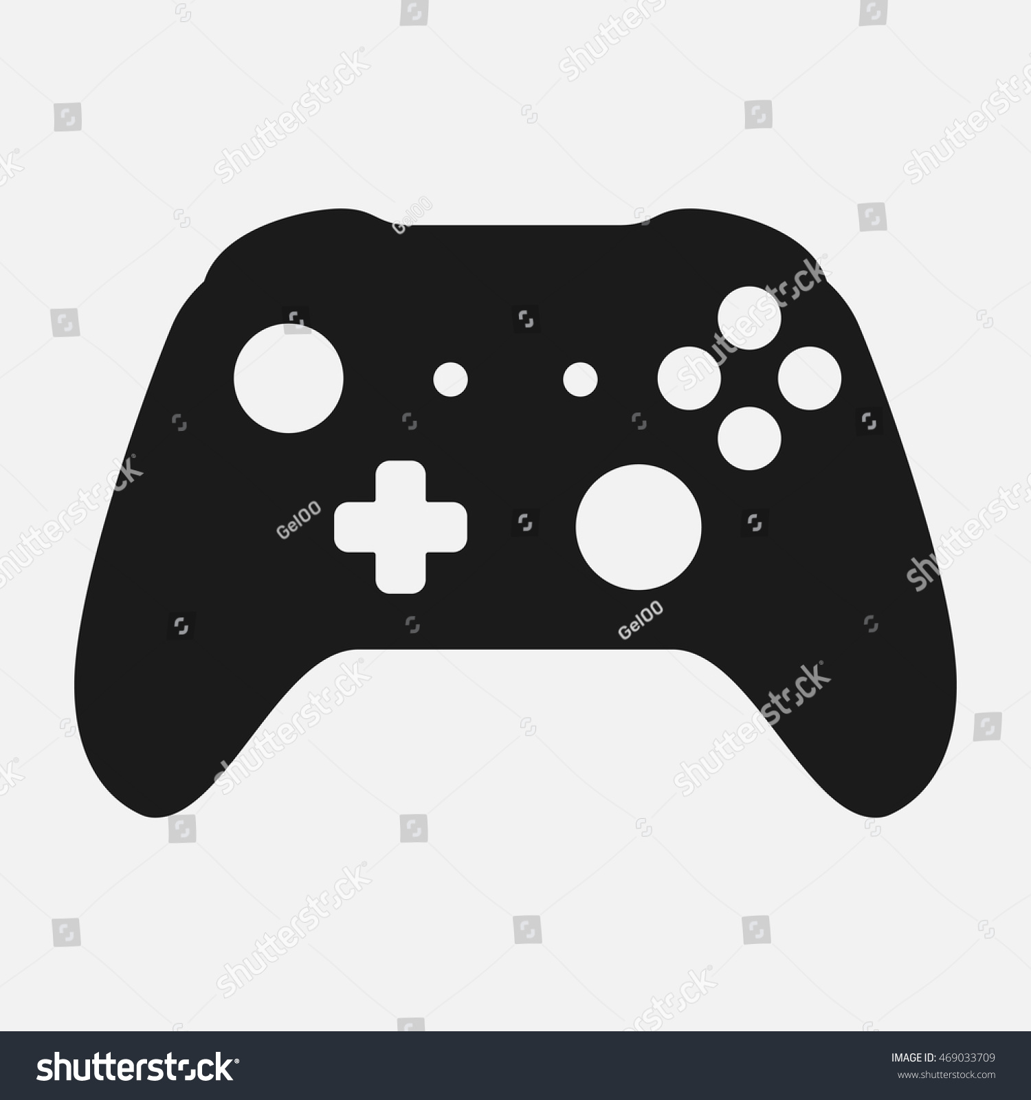 Game Controller Icon Vector | www.imgkid.com - The Image ...