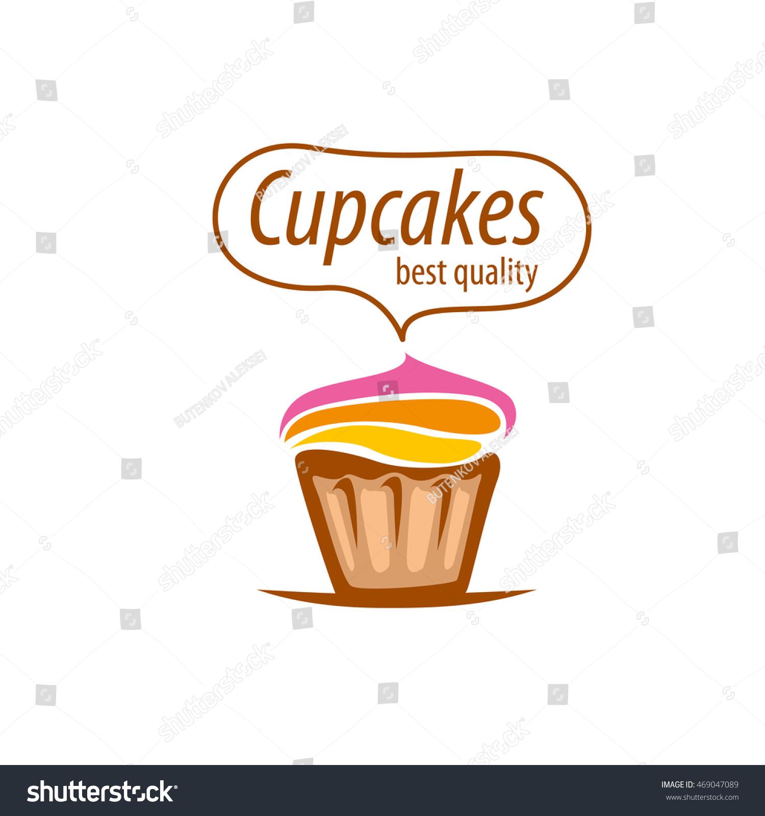 vector logo cake stock vector shutterstock vector logo cake