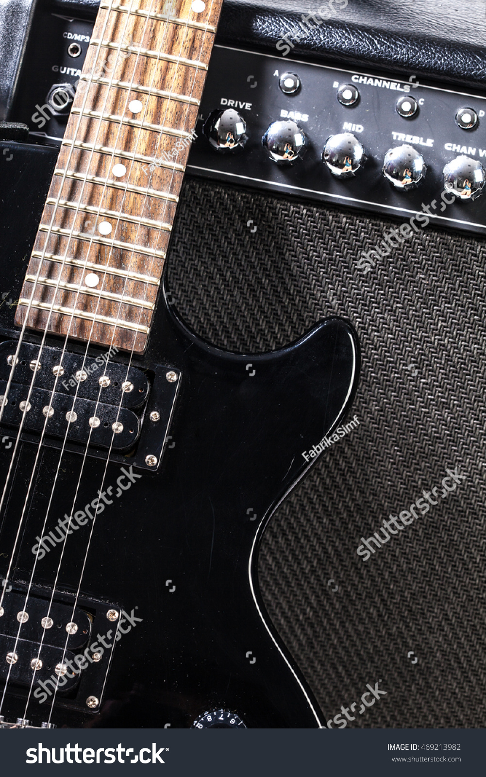 Electric Guitar Parts Stock Photo Edit Now 469213982 Shutterstock