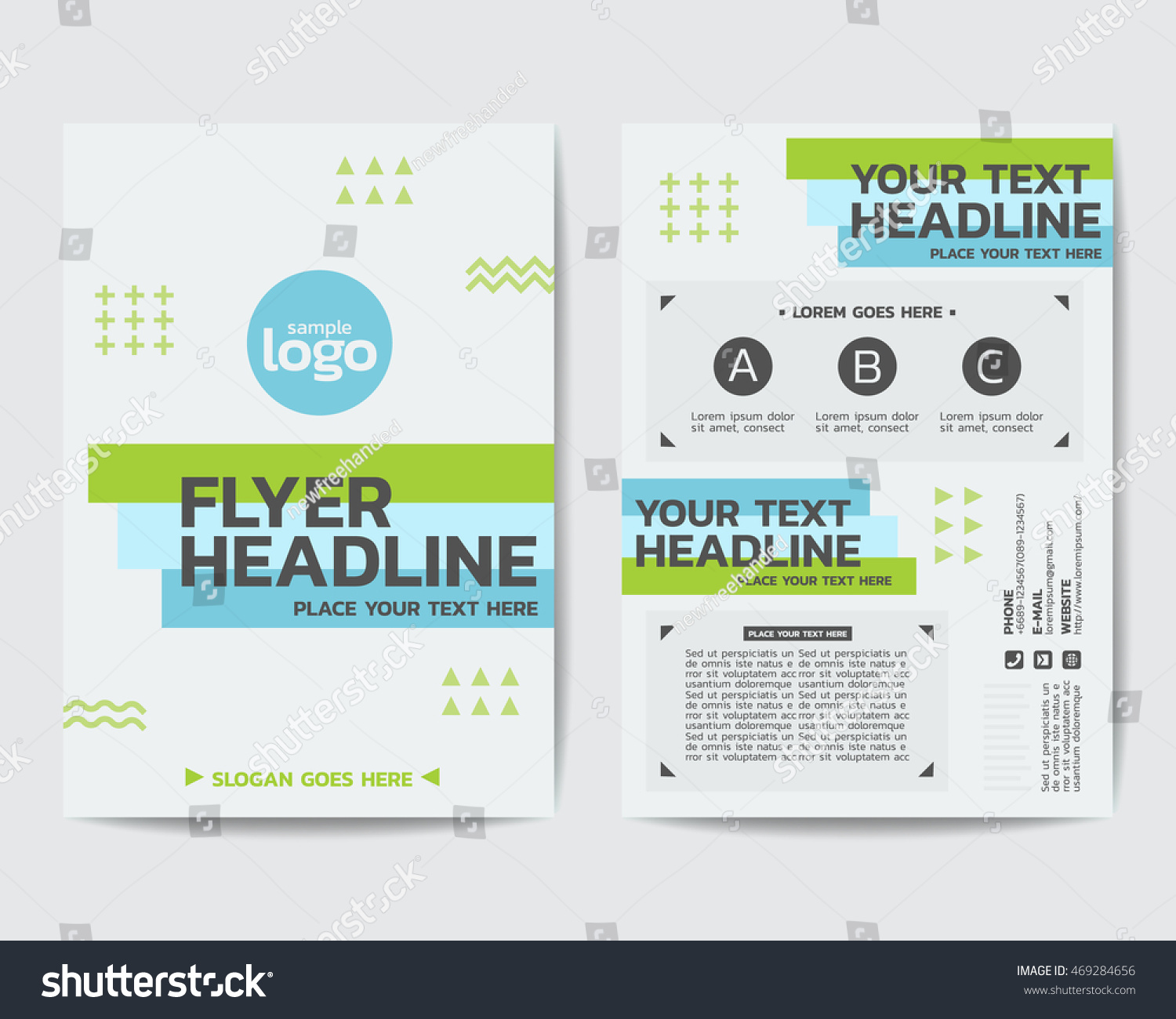 moving flyer template