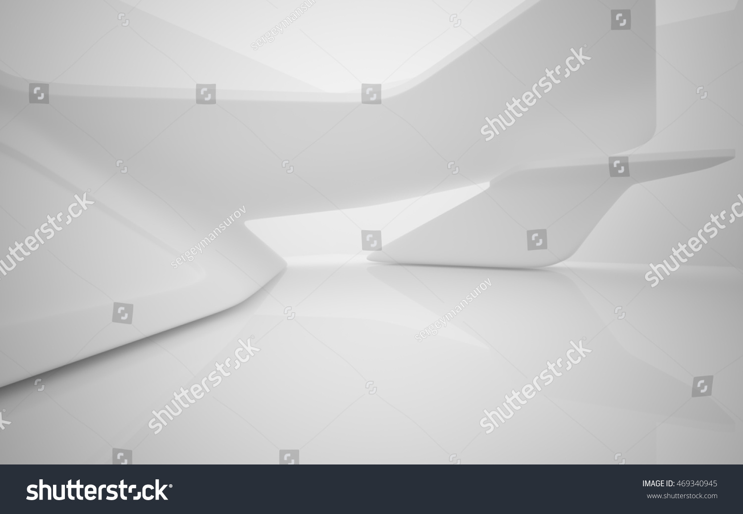 abstract smooth white interior future architectural stock abstract smooth white interior of the future architectural background 3d illustration and rendering