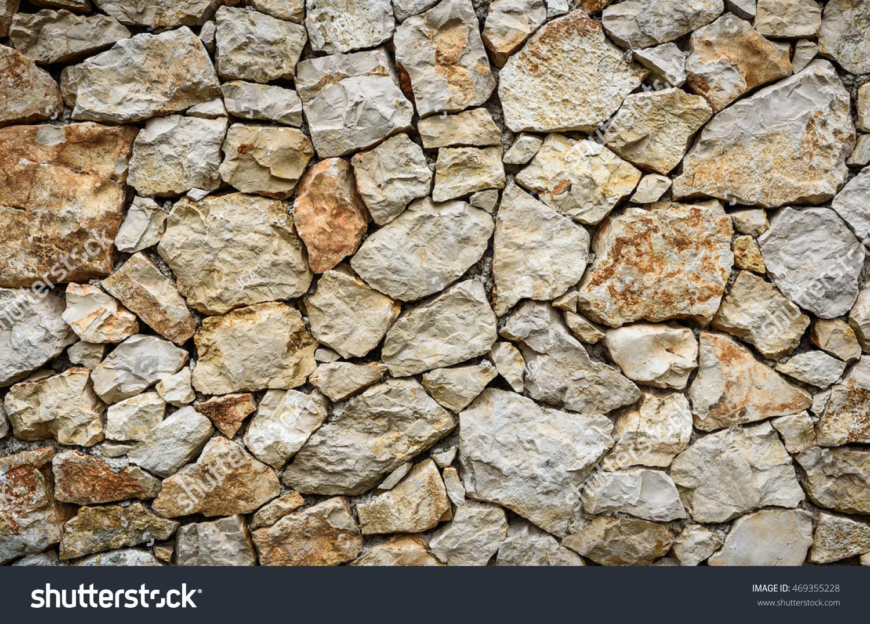 Modern Pattern Natural Stone Brick Decorative Stock Photo
