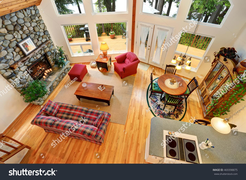 Open Floor Plan Living Room Interior Stock Photo Edit Now 469398875