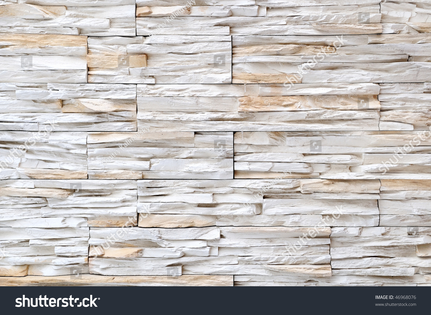 Yellow white brick stone exterior interior stock photo - Exterior wall finishes materials ...