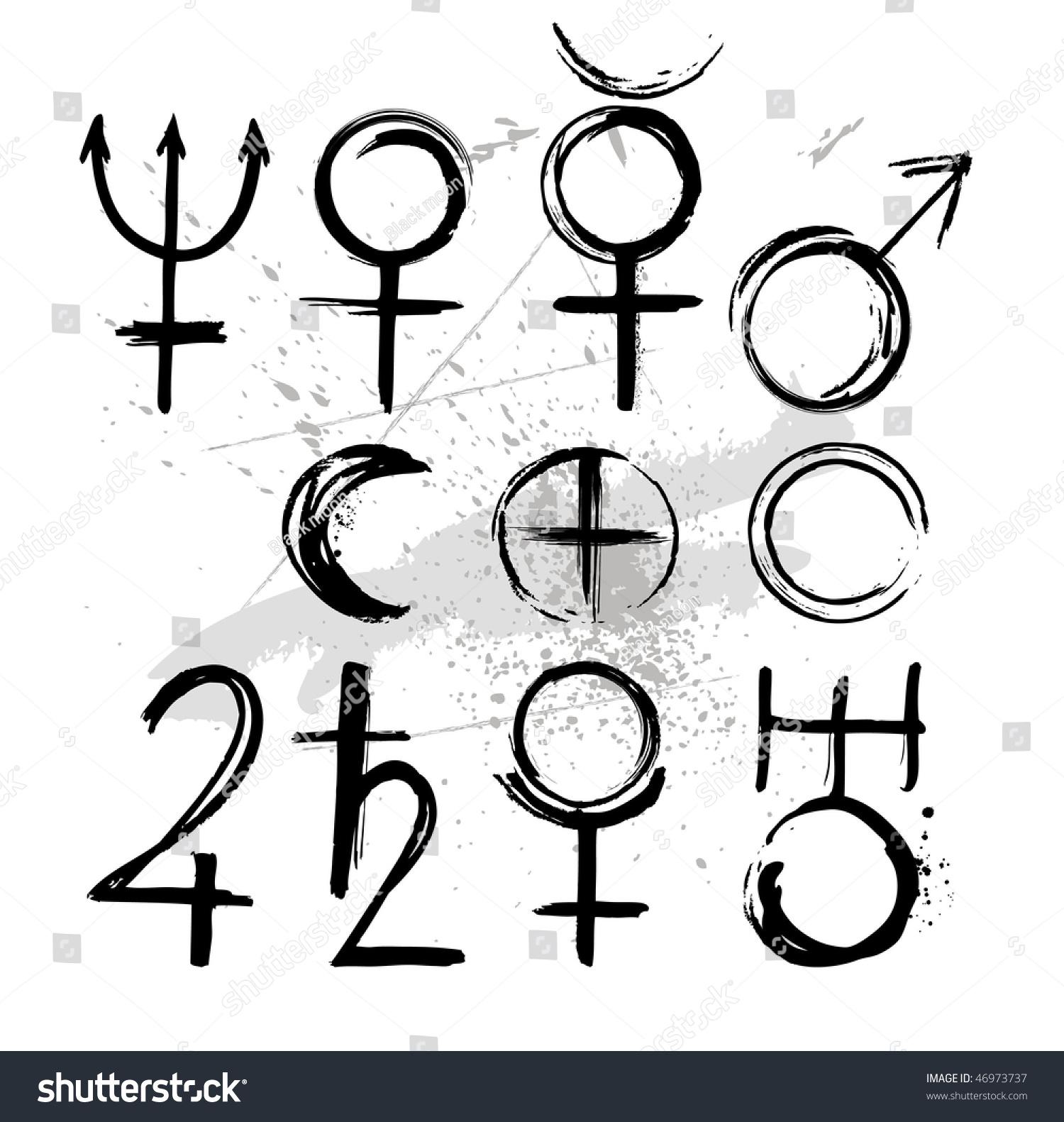 solar system symbols - photo #26