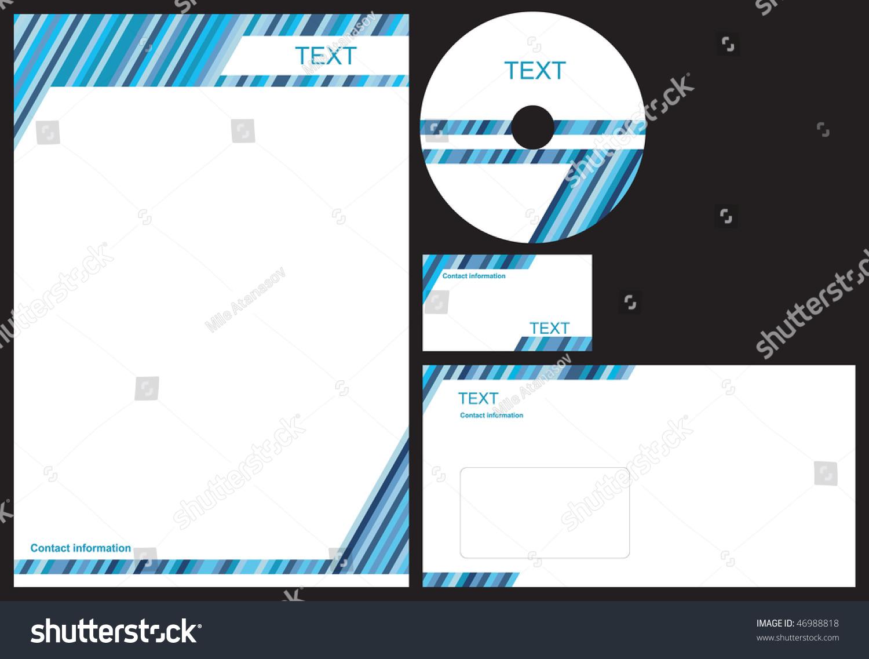 Lovely sample business card letterhead envelope vector business package business card letterhead envelope stock vector shutterstock reheart Choice Image