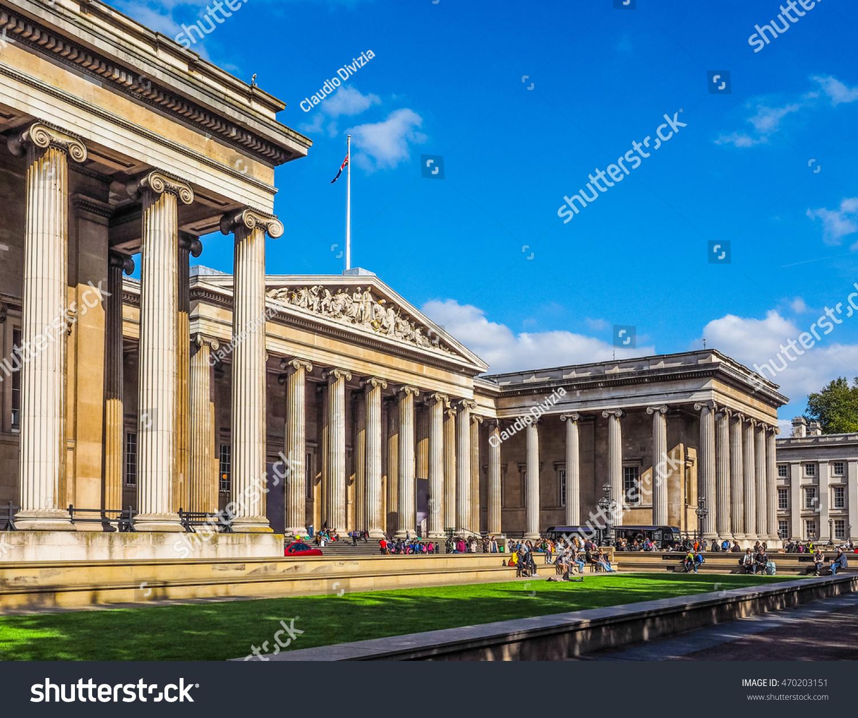 High dynamic range HDR The British Museum in London, England, UK #470203151
