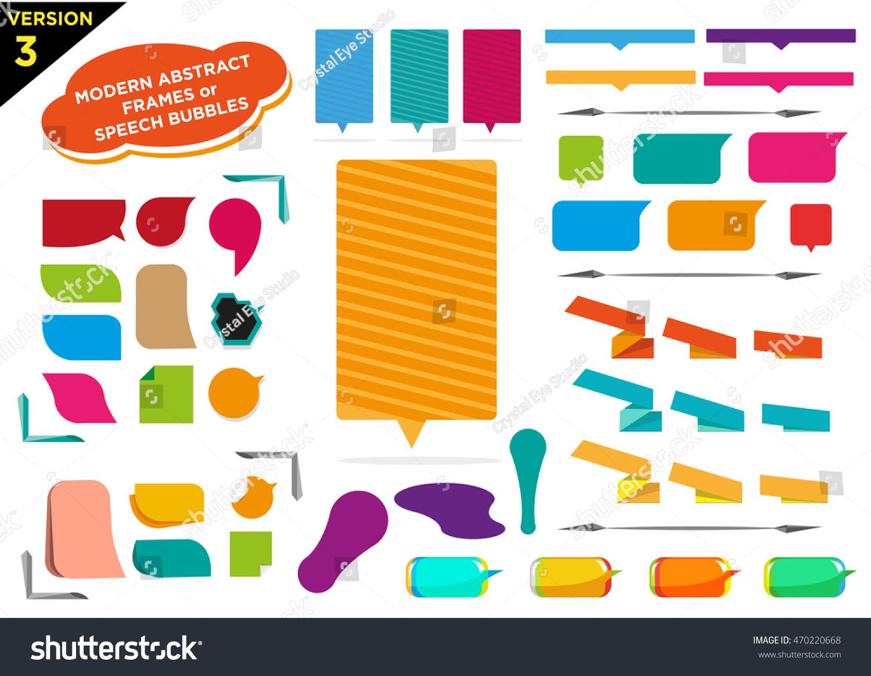 Cornici Colorate Per Foto immagine vettoriale stock 470220668 a tema cornici colorate