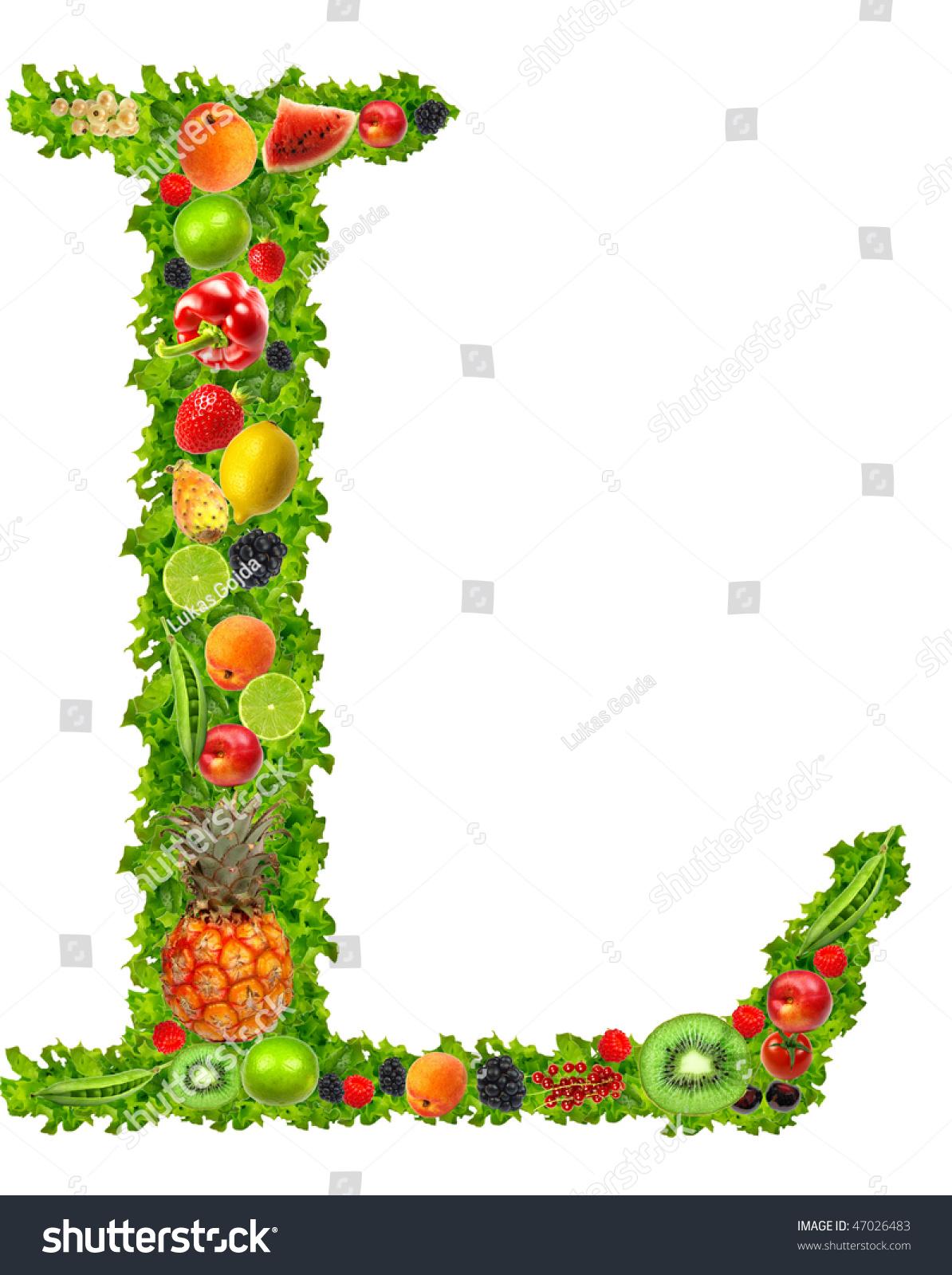 Fruit and vegetable letter l stock photo 47026483 - Fruit de l amandier ...