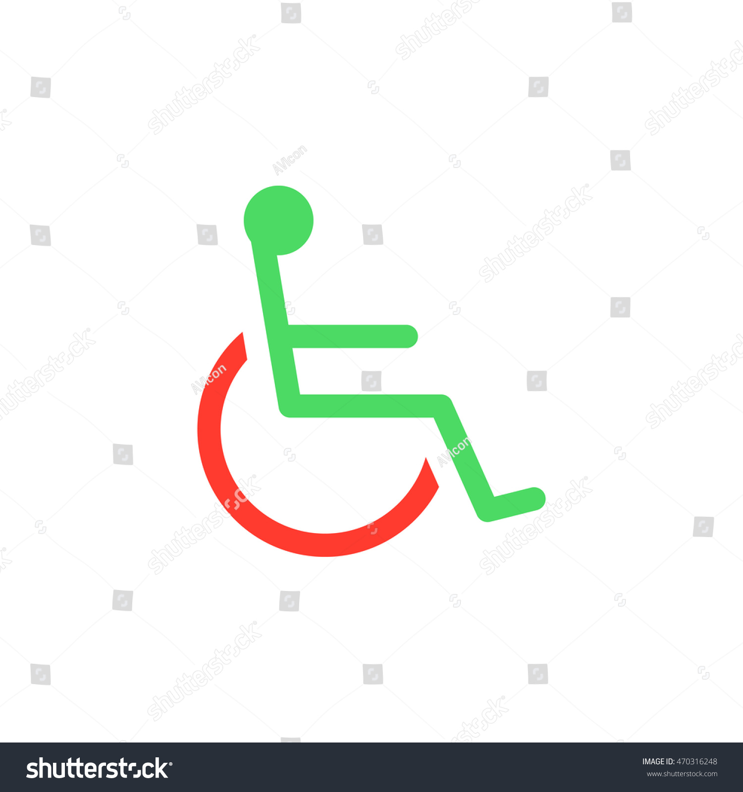 handicap symbol icon vector wheelchair solid stock vector 470316248 rh shutterstock com handicap logo clip art handicap logo vector