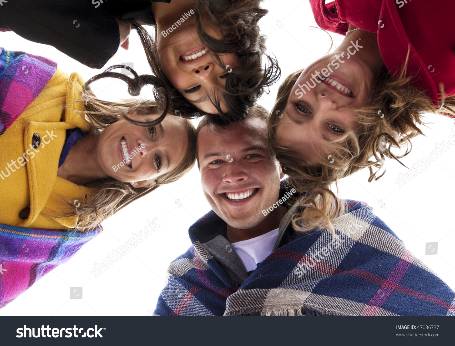 Diverse Group Of Young Adults Stock Image -