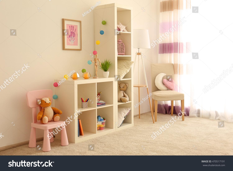 Beautiful children room interior stock photo 470517191 for Beautiful kids room