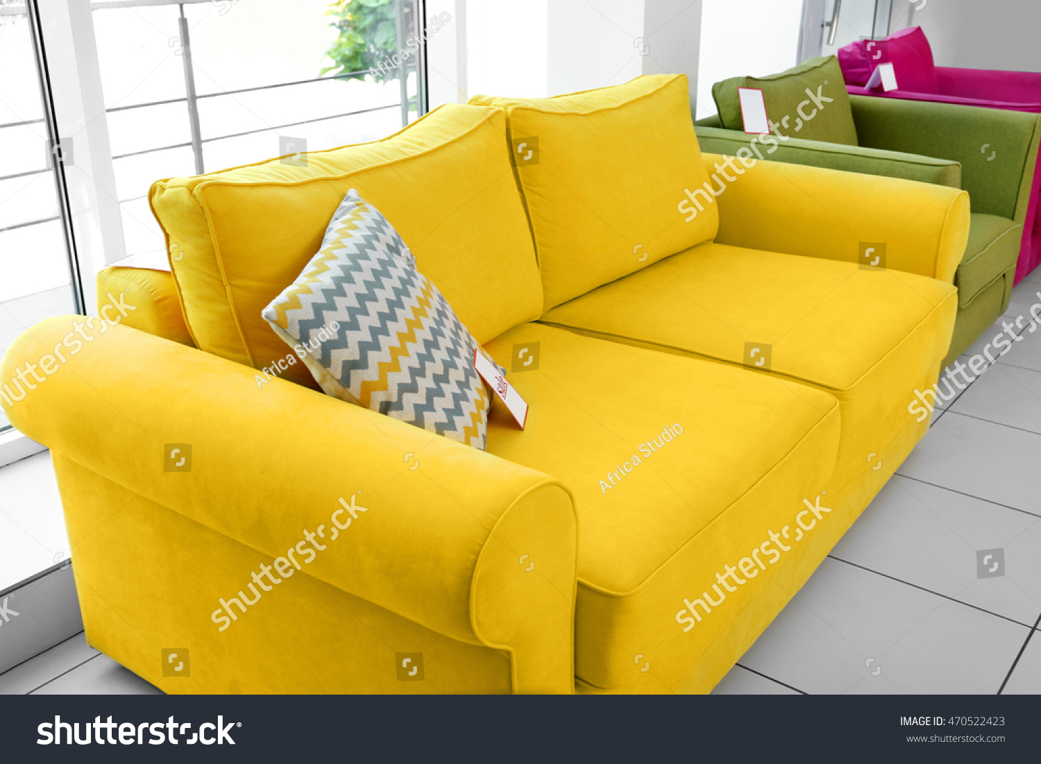 Yellow Couch Living Room Simple Adjustable Futon Sleeper