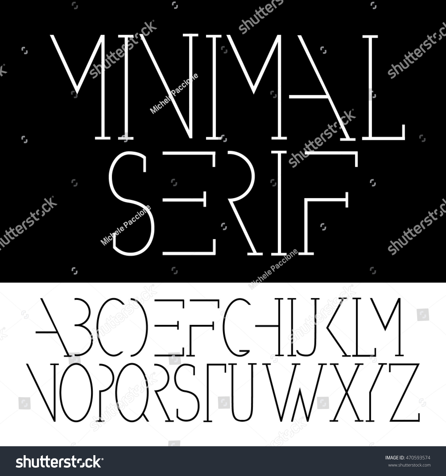 Minimal serif font symbol icon alphabet stock vector 470593574 minimal serif font symbol icon alphabet a through z eps 10 vector biocorpaavc Image collections
