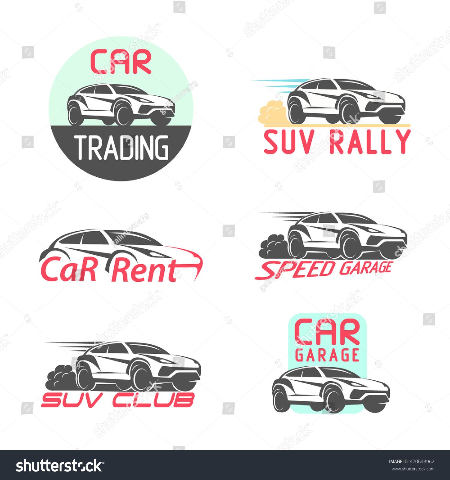 Design car emblem - Car Logo Emblem Template Design Vector Illustration